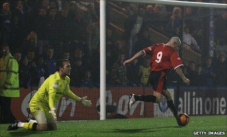 Michael Norton scores the winning goal