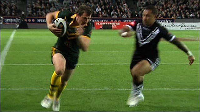Australia ease to victory over New Zealand at Eden Park in Auckland, despite resting several big names