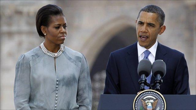 President Barack Obama and Michelle Obama