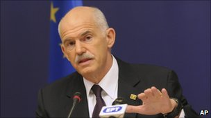 George Papandreou (file picture)