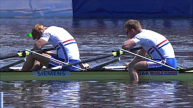 GB's dejected men's double scull team