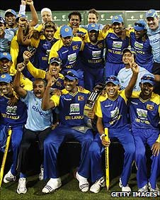 Sri Lanka celebrate in Sydney