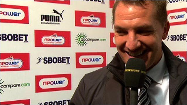 Rodgers hails 'outstanding' Swansea