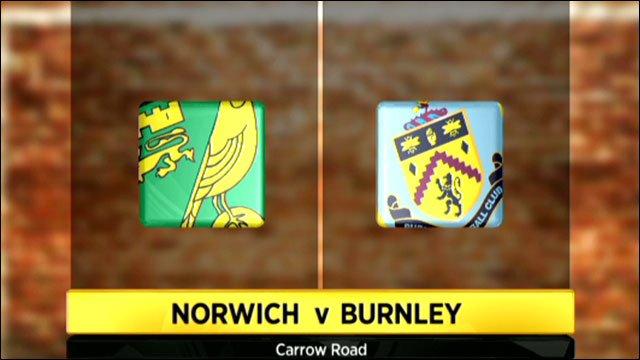 Norwich 2-2 Burnley