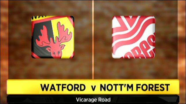 Watford v Nottingham Forest: Watch a Live Stream of the Championship match (25/08/2013)