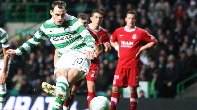 Anthony Stokes scores for Celtic