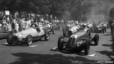 Monaco race 1955