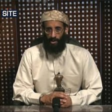 Video grab of Anwar al-Awlaki video message, picture credit: SITE Intelligence Group