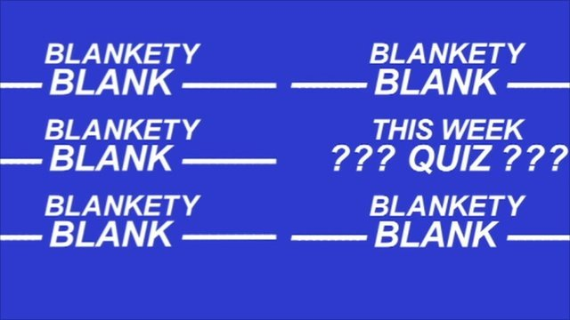 Blankety Blank graphic