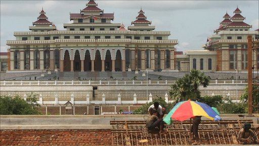 New parliament building in Nay Pyi Taw