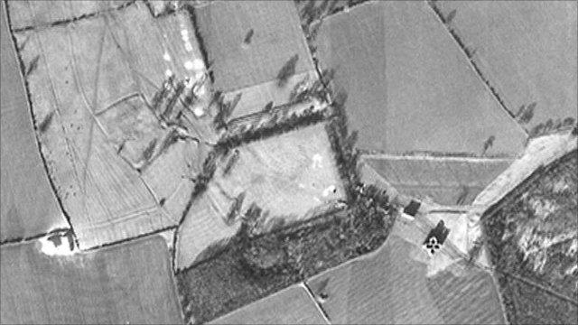 Luftwaffe photograph of Lyveden