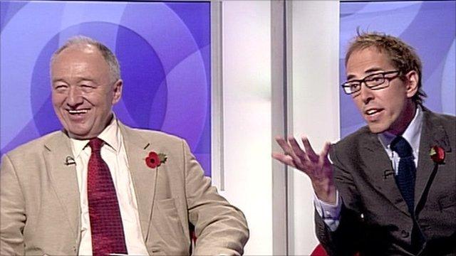 Ken Livingstone and James Delingpole