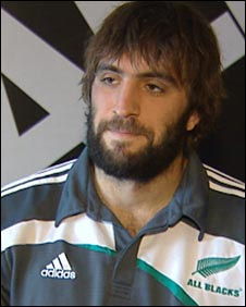 New Zealand lock Sam Whitelock