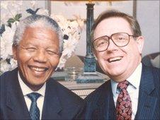 Nelson Mandela and Ed Doolan