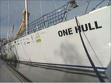 NHS Hull yacht