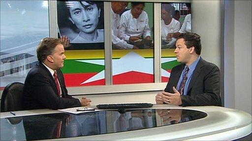 Jared Genser talks with Matt Frei