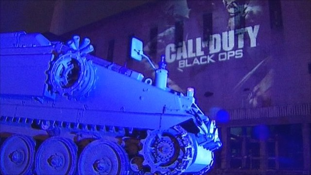 London launch for Call of Duty: Black Ops - BBC News
