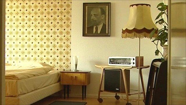 Hotel room in the old German Democratic Republic