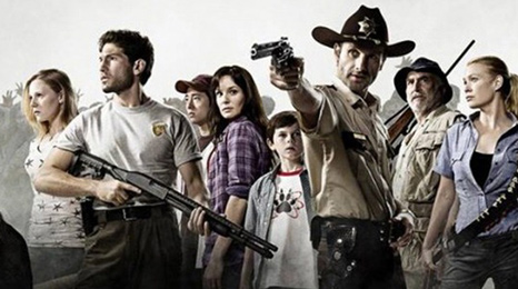 zombie tv show the walking dead gets second series   bbc newsbeat