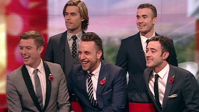 The Overtones on BBC Breakfast