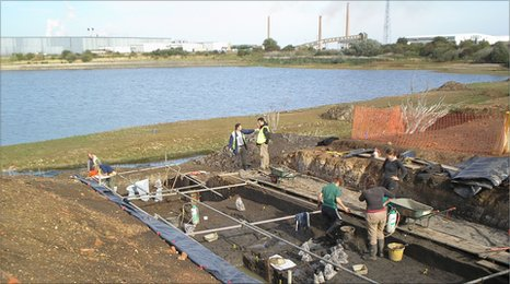 Dig at Must Farm, Whittlesey