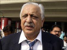 Pakistan Cricket Board chairman Ijaz Butt