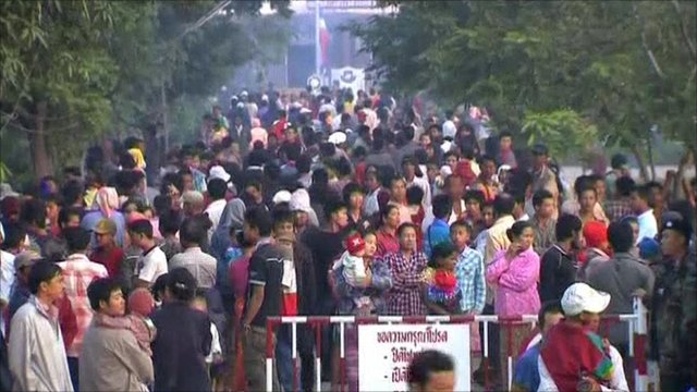 People at Thai/Burma border