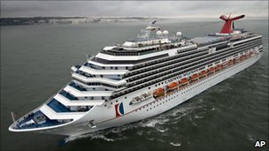 Carnival Splendor (file photo, June 2008)