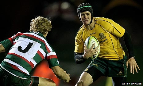 Berrick Barnes (right) and Billy Twelvetrees
