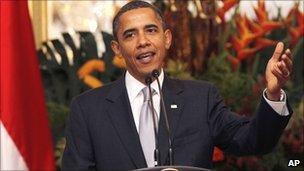 Barack Obama in Jakarta - 9 November 2010