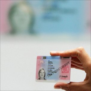 Foreign national ID card