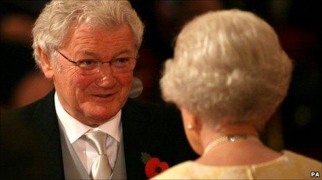 Jackie Fullerton meets the Queen