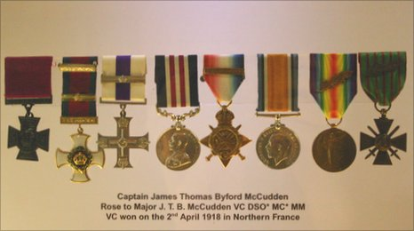 McCudden's medals