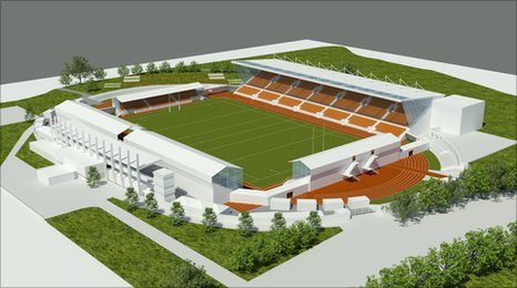 Barnet Copthall Stadium proposed plan