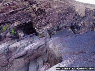 Lochinver rock (University of Aberdeen)