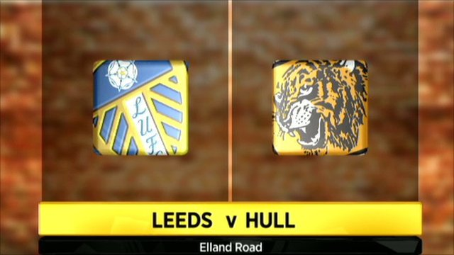 Leeds v Hull graphic