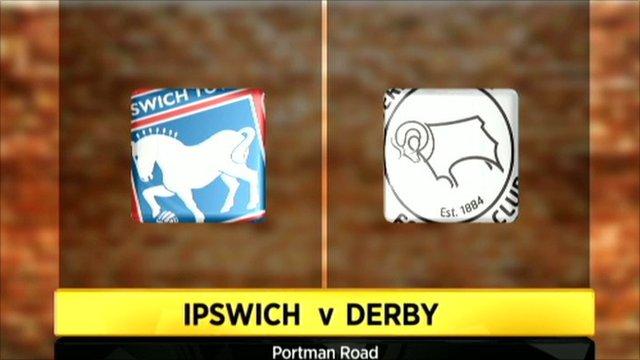 Ipswich v Derby graphic