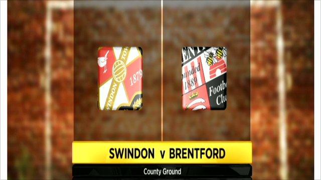 Swindon v Brentford