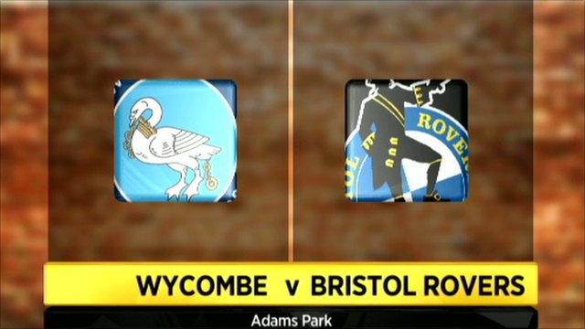 Wycombe v Bristol Rovers graphic