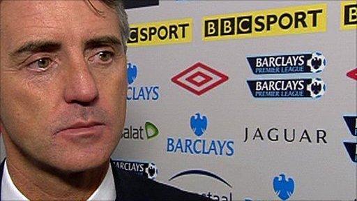 Man City boss Roberto Martinez