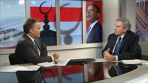 Paul Wolfowitz talks with Matt Frei