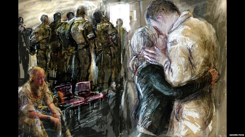 BBC News  In War and Paint: Diary of a Modern Day War Artist