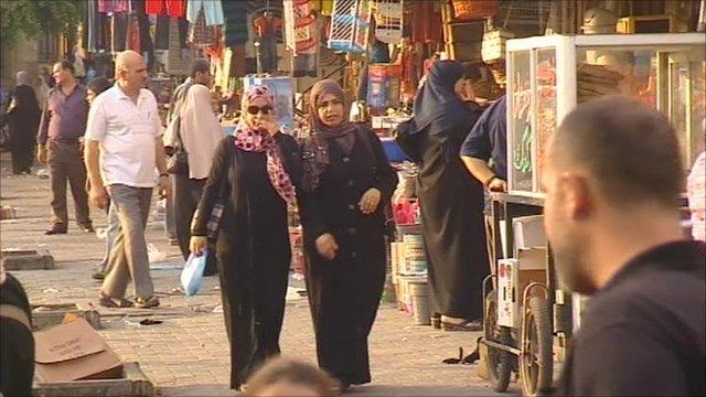 Markets of Gaza city