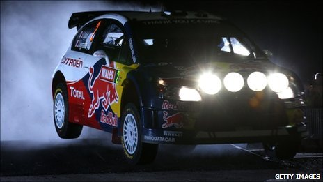 Sebastien Ogier of France