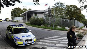 US embassy in Stockholm (Sept 2010)