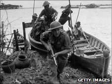 British forces in Burma