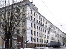 Matrosskaya Tishina prison (Man's quiescence) building in Moscow
