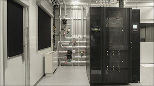 IBM's Aquasar supercomputer (Pic: IBM)