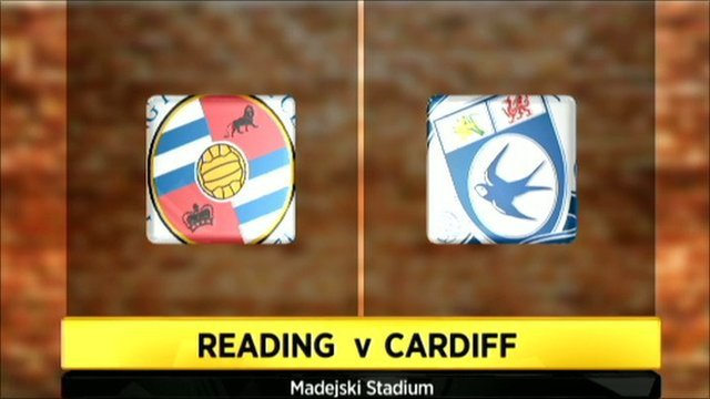 Highlights - Reading 1-1 Cardiff