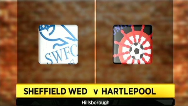 Highlights - Sheffield Wednesday 4-1 Hartlepool